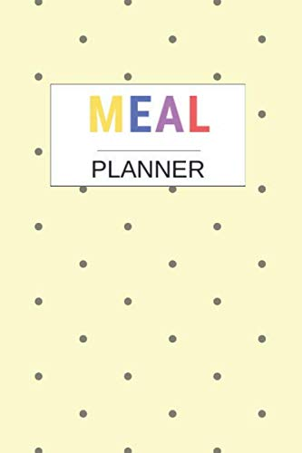 Price comparison product image Meal Planner: Weekly Meal Planner And Grocery List Beautiful Colorful / (52 Week Food Planner / Diary / Log / Journal / Calendar) / Meal Prep And Planning Grocery List