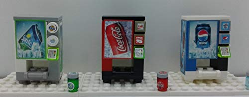 (Building Toys Custom soda vending machines Build Bricks)