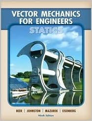 Vector Mechanics for Engineers: Statics 9th (ninth)by Beer, Johnston