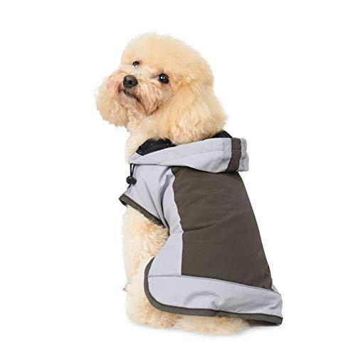 Petsf Dog Raincoat S-7XL Big Size Dog Raincoat Waterproof Reflective Jacket Dog Loft Jacket Dog Climate Changer Warm Caot Jacket for Big Small Dog