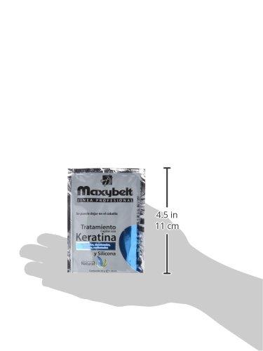Maxybelt Tratamiento Queratina y Silicona - 24 Bolsitas x 40 ml: Amazon.es: Belleza