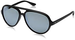7d618c63a306 Ray Ban Sunglasses RB4054 601S/82 Matte Black/Grey Mirror Silver ...