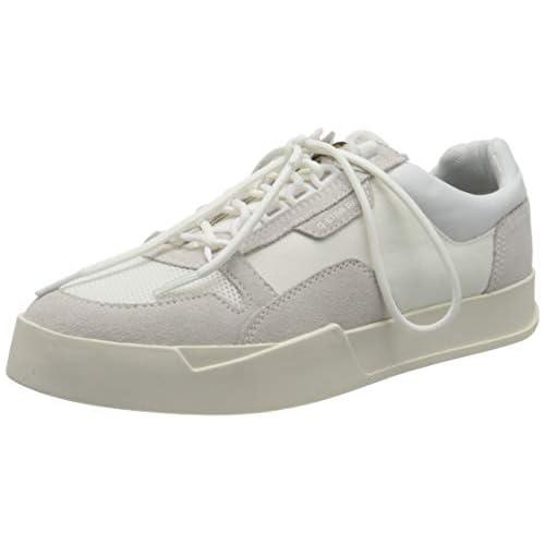 chollos oferta descuentos barato G STAR RAW Rackam Vodan Low II Zapatillas Hombre Blanco White C243 110 46 EU