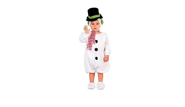 DISBACANAL Disfraz Muñeco de Nieve bebé - -, 6-12 Meses: Amazon.es ...