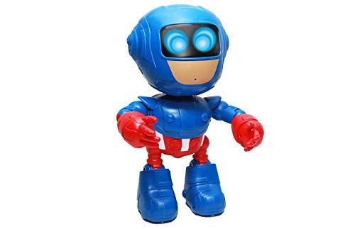 3 RC TECNIC Robot Telecomandato per Bambini Grande Testa Superheroe Giocattolo Robot con Batterie Telecomando Radiocomandato Robotica Programmabile Regali Giocattoli Bambini 2 6 Anni 5 4