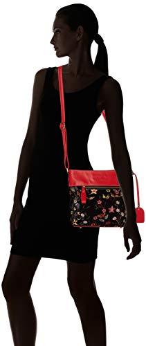 Dremil Rojo Bandolera Bolsos Laura rouge Mujer Vita 01 pnYqw6H5