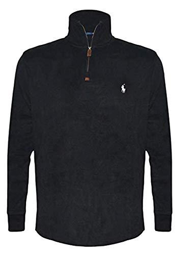 Polo Ralph Lauren Men's Big & Tall Fleece 1/2 Zip Mock -