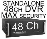 USG Business Grade Standalone 48 Channel DVR + 2TB HDD, 1080P Output, 1,440 fps, Up To 20TB HDD, 16 Ch Audio In, 3 Video Out, 16 Ch Alarm In, PTZ, Motion Detection, View Remotely On Any Computer, Smartphone or Tablet