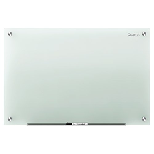 Quartet Glass Dry Erase Board  White Board Frosted Non-Magnetic (Large Image)