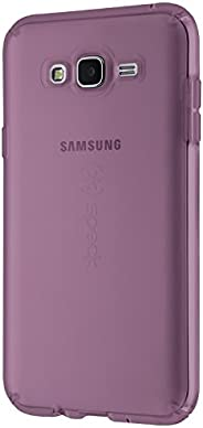 Speck Products CandyShell Clear Case for Samsung Galaxy J7, Beaming Orchid Purple Clear