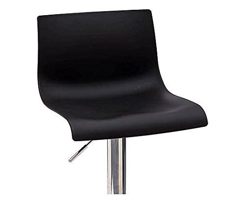 Arredo & design italy 2 sgabelli da bar cucina girevoli seduta nera
