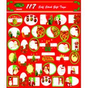 Ddi - Christmas Gift Tags - 117 assorted designs (1 pack of 72 items) by DDI