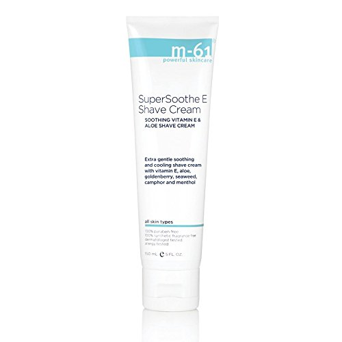M Shave Aloe Gel - M-61 SuperSoothe E Shave Cream