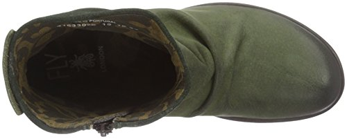 Fly London P141633, Botas Cortas Mujer Verde (Bottlegreen 026)
