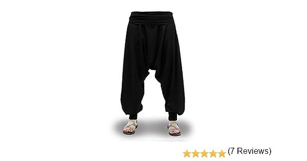 Pantalones Harem Cagados Etnicos Yoga Thai Unisex Cuatro Tallas  Amazon.es   Ropa y accesorios 0e64ff83ee88