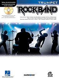 Hal Leonard Rock Band for Trumpet Instrumental Play-Along ()