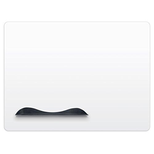 Best-Rite Elemental Magnetic Dry Erase Whiteboard Peel-n-Stick Skin, 1.5 x 2 Feet, White (208JA-25) Non Magnetic Aluminum Markerboard