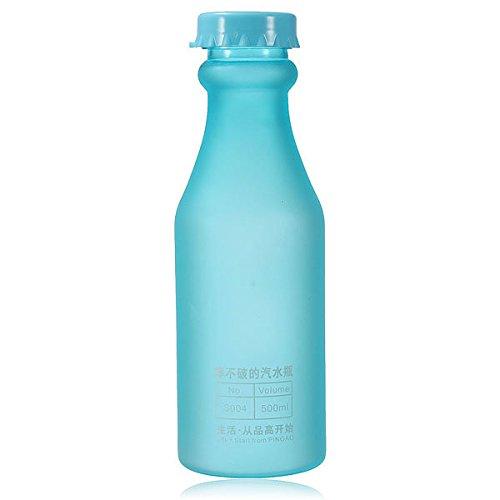 Water Bottles - 500ml 17oz Cycling Bike Water Bottle Plastic - Weewee Lachrymal Secretion Supply Perspiration Urine Sudor Body Hidrosis System Lacrimal - 1PCs