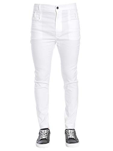 Haider Ackermann Men's 1733418162003 White Cotton Pants for sale  Delivered anywhere in USA
