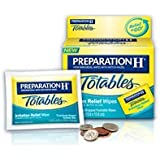 Preparation H Preparation H Hemorrhoidal Wipes With Witch Hazel Flushable Wipes, 10 each (Pack of 3)