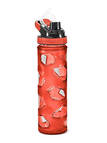 (Eddie Bauer Unisex-Adult Rocktagon 22 oz Bottle, Mandarin Regular ONESZE)