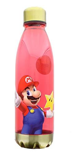 Super Mario Bros Plastic Reusable Water Bottle | 20 ()