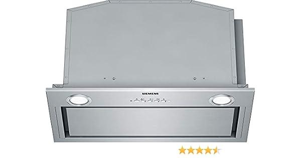 Siemens LB59584M - Campana (730 m³/h, Canalizado/Recirculación, A, A, D, 310 m³/h): 340.01: Amazon.es: Grandes electrodomésticos