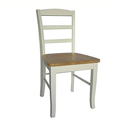 Amazon.com: pemberly fila Ladderback silla de comedor en ...