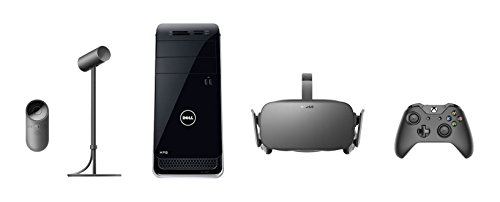 Oculus Rift + Dell Oculus Ready XPS 8900 Desktop PC Bundle [Discontinued by Manufacturer] (Intel Turbo Memory Card)