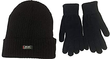 Image Unavailable. Image not available for. Color  TFNI-THINSULATE-HANDY Mens  Black Thermal Thinsulate Winter Hat ... c1990043dd35
