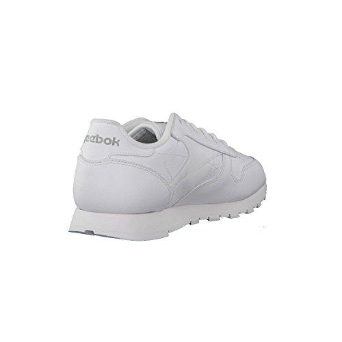 Lthr Cl Femme Reebok Sneaker White Basses vATxF5q