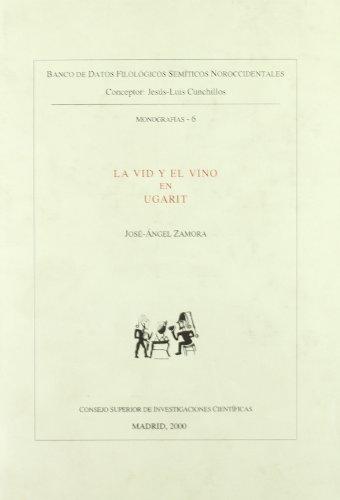 La Vid Y El Vino En Ugarit