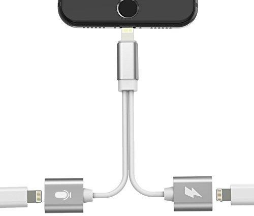 27 opinioni per iphone 7 lightning l 'adattatore, doppia funzione fulmini della jack divisore