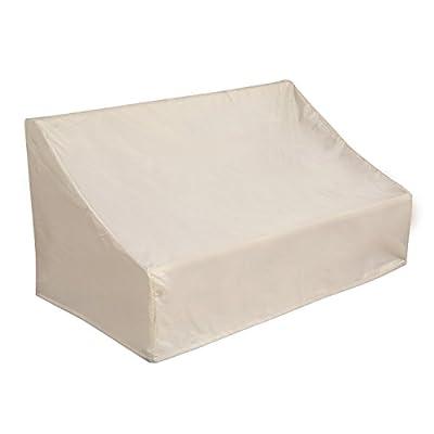 Deconovo Oxford Outdoor Patio Loveseat Cover Waterproof Dustproof Veranda Patio Sofa Cover
