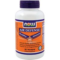 Air Defense Immune Booster 90 Vcaps - NOW Foods