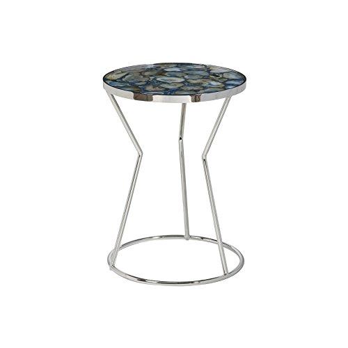 Pulaski P050475 Millard Polished Stone Circular Side Accent Table