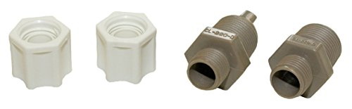 Hayward CLX220EA CL 200 Series Pool Chemical Feeder Check Valve and Inlet Fitting Adapter Assembly (Cl220 Hayward Chlorinator)