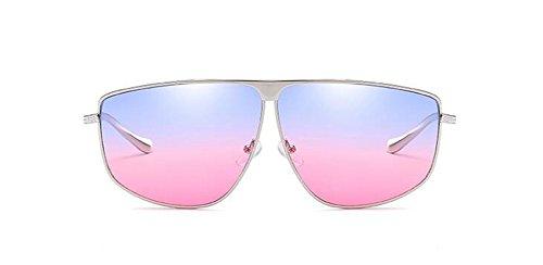 vintage inspirées Poudre en Lennon Bleue cercle rond soleil du de lunettes style métallique retro polarisées nZxaCqwH