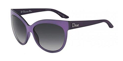 CHRISTIAN DIOR PANAME Cat Eye Purple Grey Oversized Optyl Sunglasses - Christian Eye Dior Glasses Cat