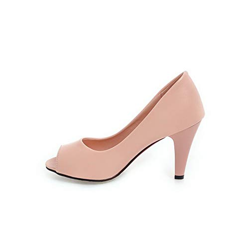 Ouvert Rose AN Bout DGU00471 Femme qOAATESw8