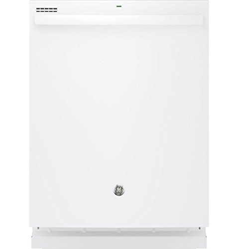 GE GDT545PGJWW 24″ Energy Star Built In Dishwasher with 16 Place Settings in White