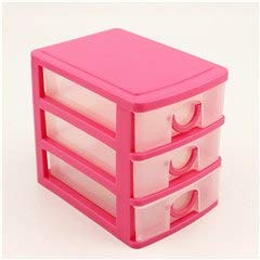 Storage Boxes Bins - Candy Color Three Layers Mini Draw Out Desk Storage Box Container Drawer Organizer - Pen Plastic Wooden Mini Sticker Drawer Metal For Bts Set