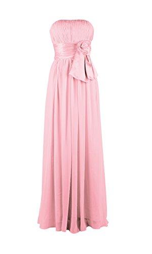 YiYaDawn -  Vestito  - linea ad a - Donna rosa 44