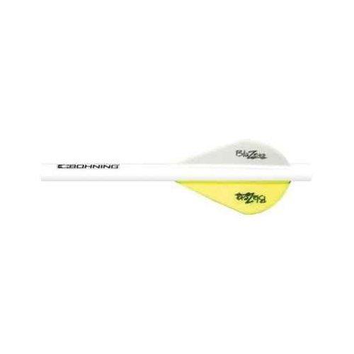 Bohning Neon Yellow Blazer Quik Fletch 6pk
