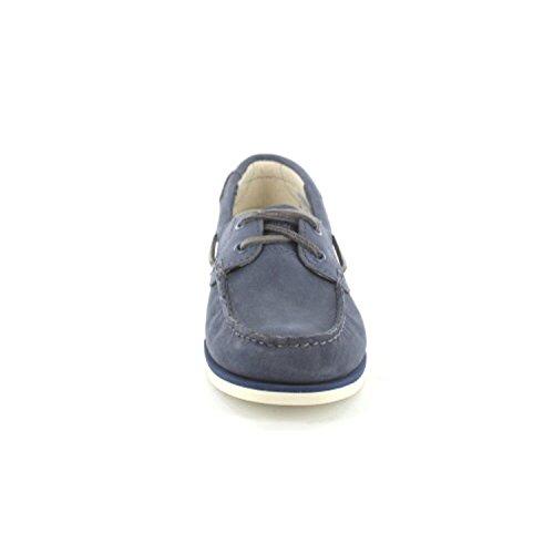 Unlined A14dp Lacets Eu Chaussures Classic 37 Boat Femmes Bleu À qBxawYaHA