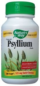 Psyllium Husks / 100 Vcaps Brand: Natures Way