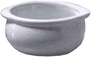 product image for Diversified Ceramics DC12C-LBD Onion Soup Bowl, 12 oz, 4-1/2 inches Dia. x 2-1/4 inches H, Rolled Edge, Priced Per Case