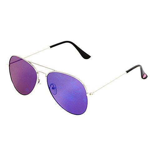 Betsey Johnson Women's Star Flat Aviator Sunglasses, - Sunglasses Johnson Aviator Betsey