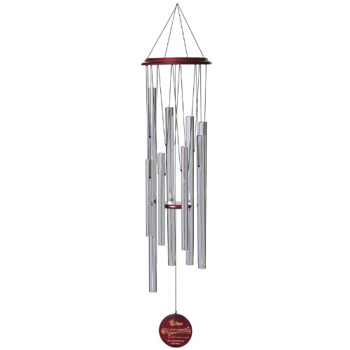 Chain Bamboo Rain (Russco lll WC114792 Traditional Wood Eclipse Wind Chime)
