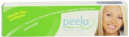 Peelu Toothpaste Fluoride Free, Spearmint, 7 Ounce by (Peelu Toothpaste Spearmint)